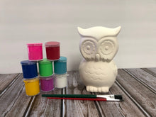 Load image into Gallery viewer, Ceramic Owl Bank