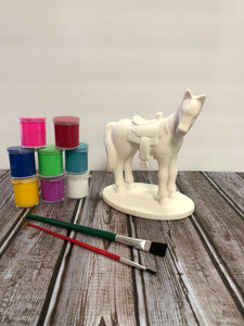 Ceramic Saddle Horse Kit