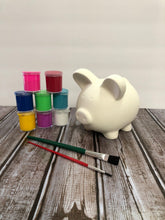 Load image into Gallery viewer, Ceramic Piggy Bank Kit