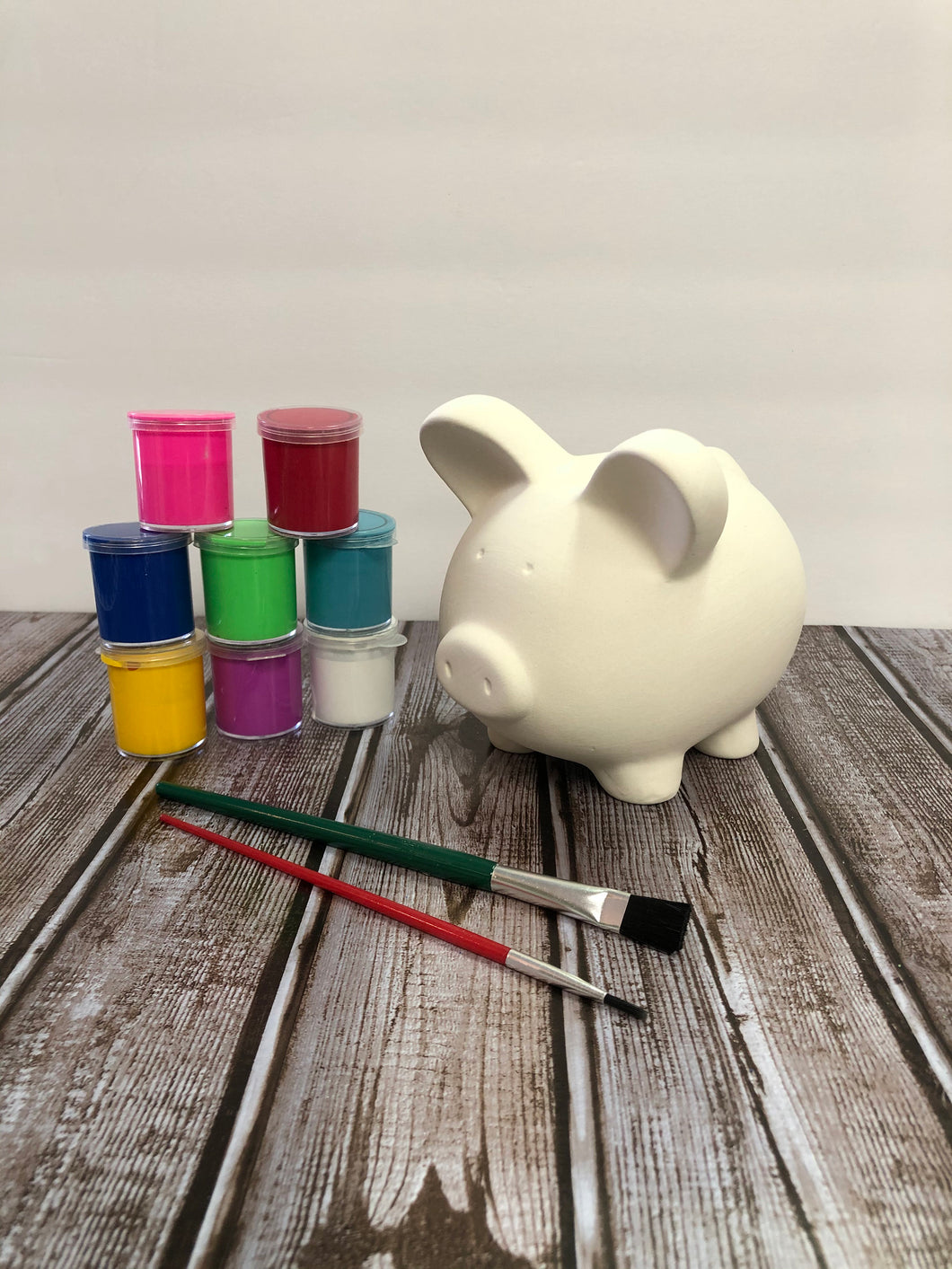 Ceramic Piggy Bank Kit