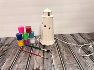 Ceramic Lighthouse Light Kit