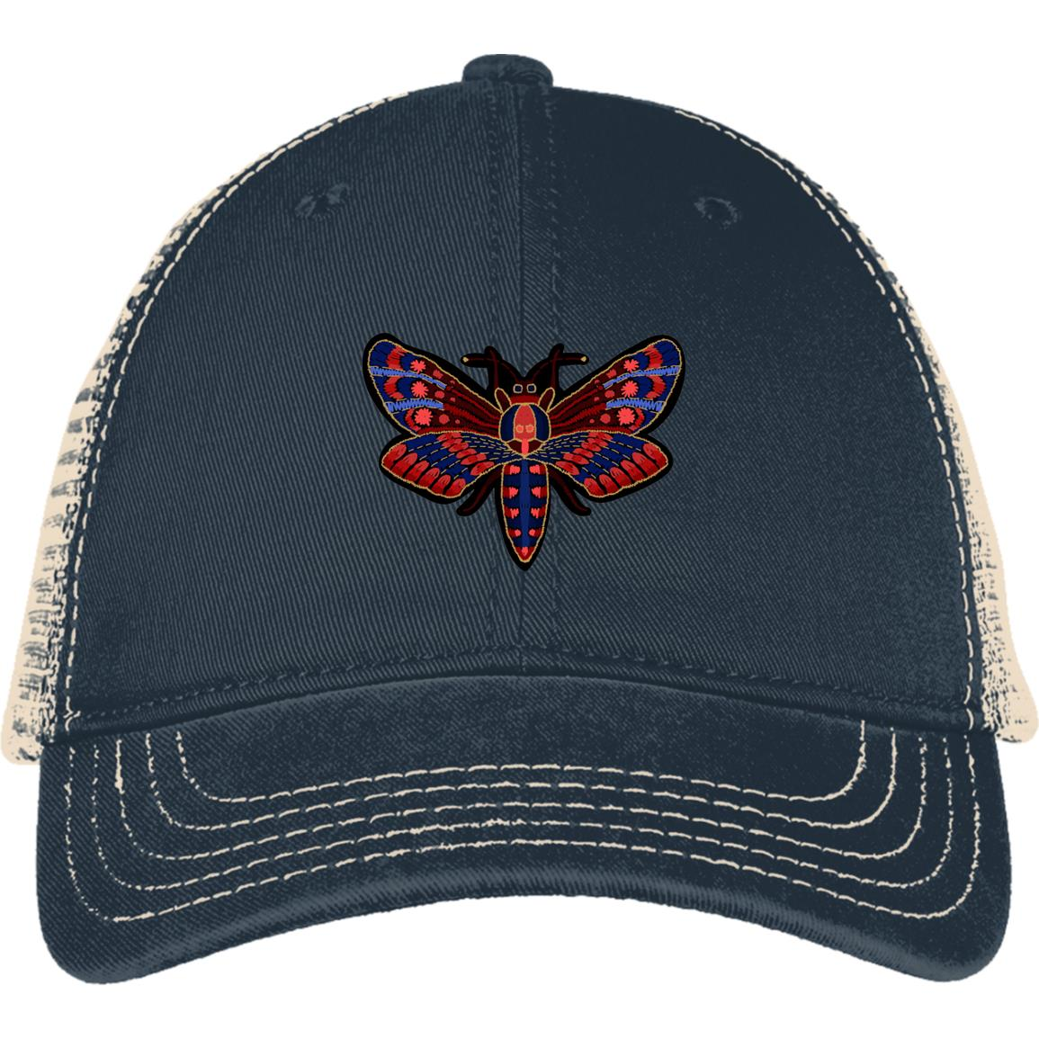 butterfly hat-butterfly-cap-embroidered