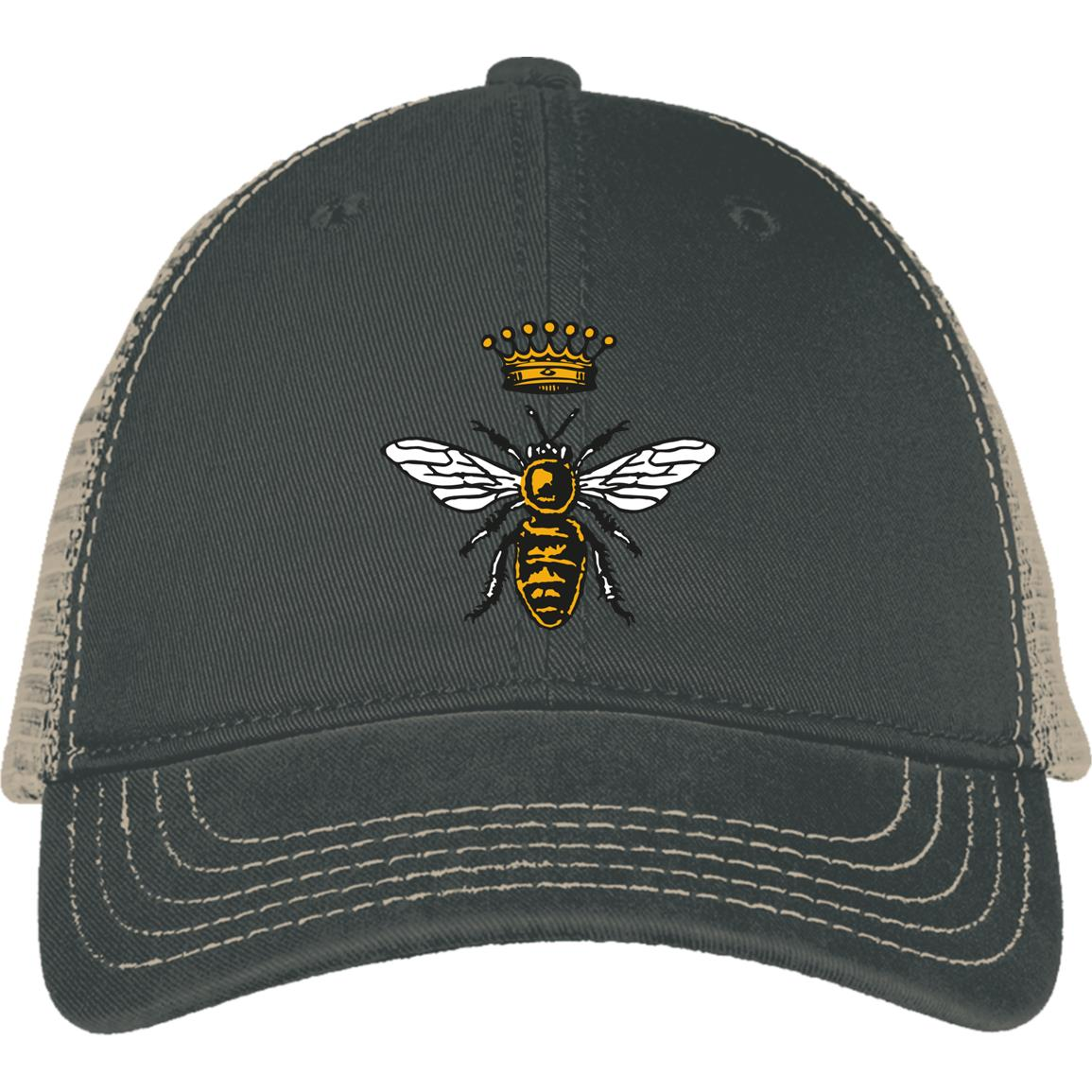 Royal Bee Embroidered Cap