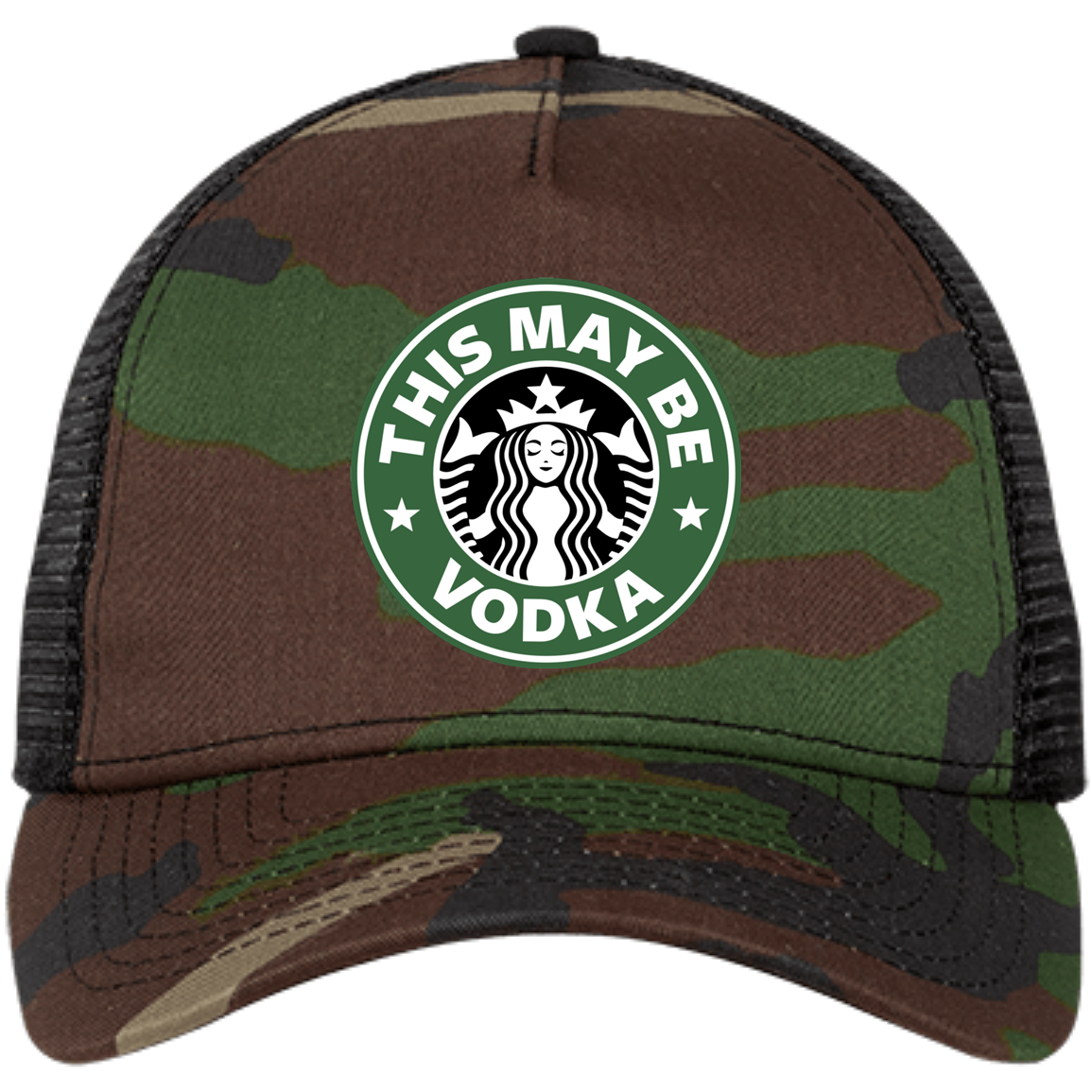This May Be Vodka Camo Trucker Hat
