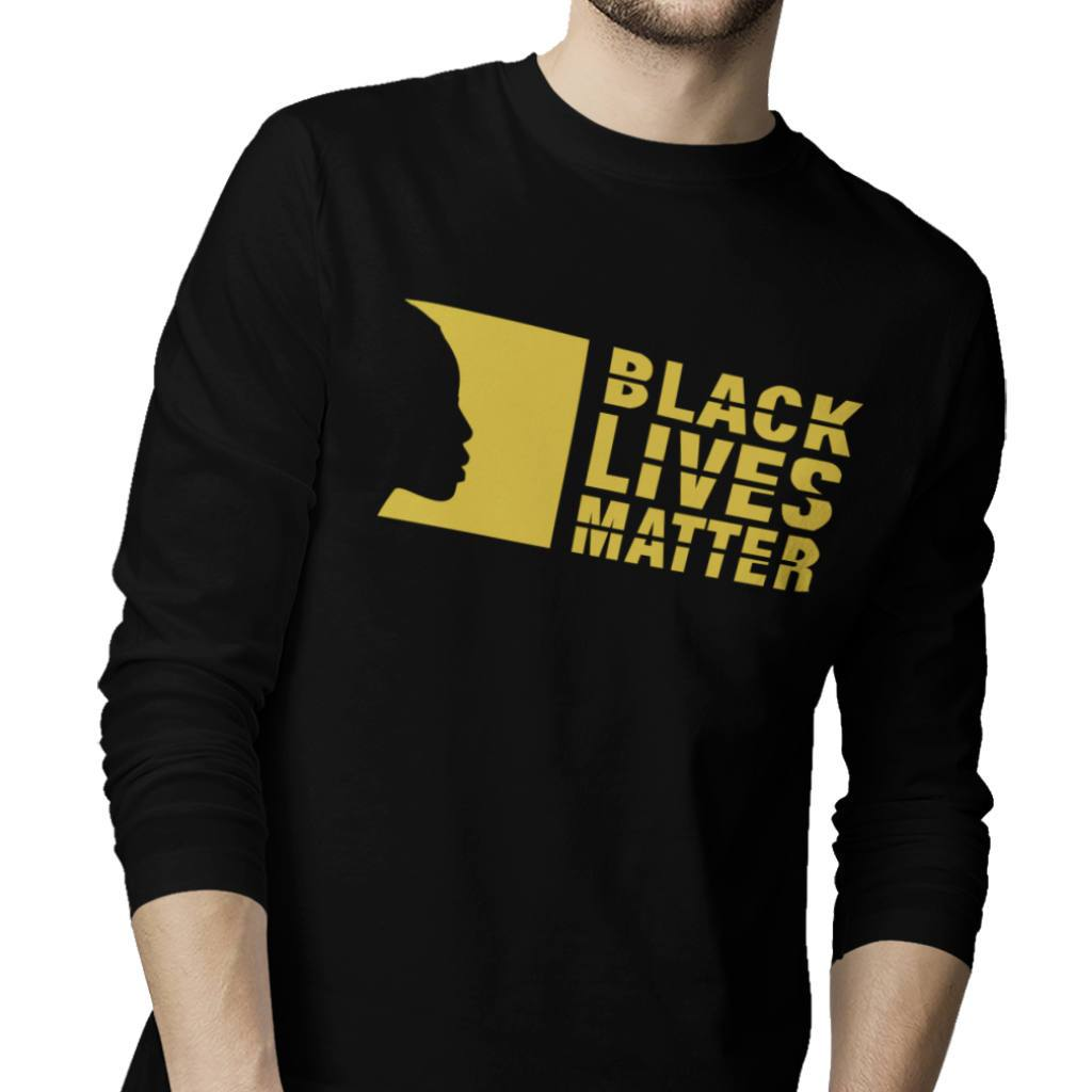 Black Lives Matter Long Sleeve T Shirt - Sugar Streetwear