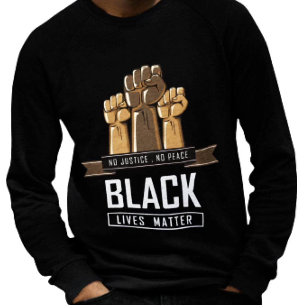 Black Lives Matter No Justice Sweatshirt - Sugar Streetwear