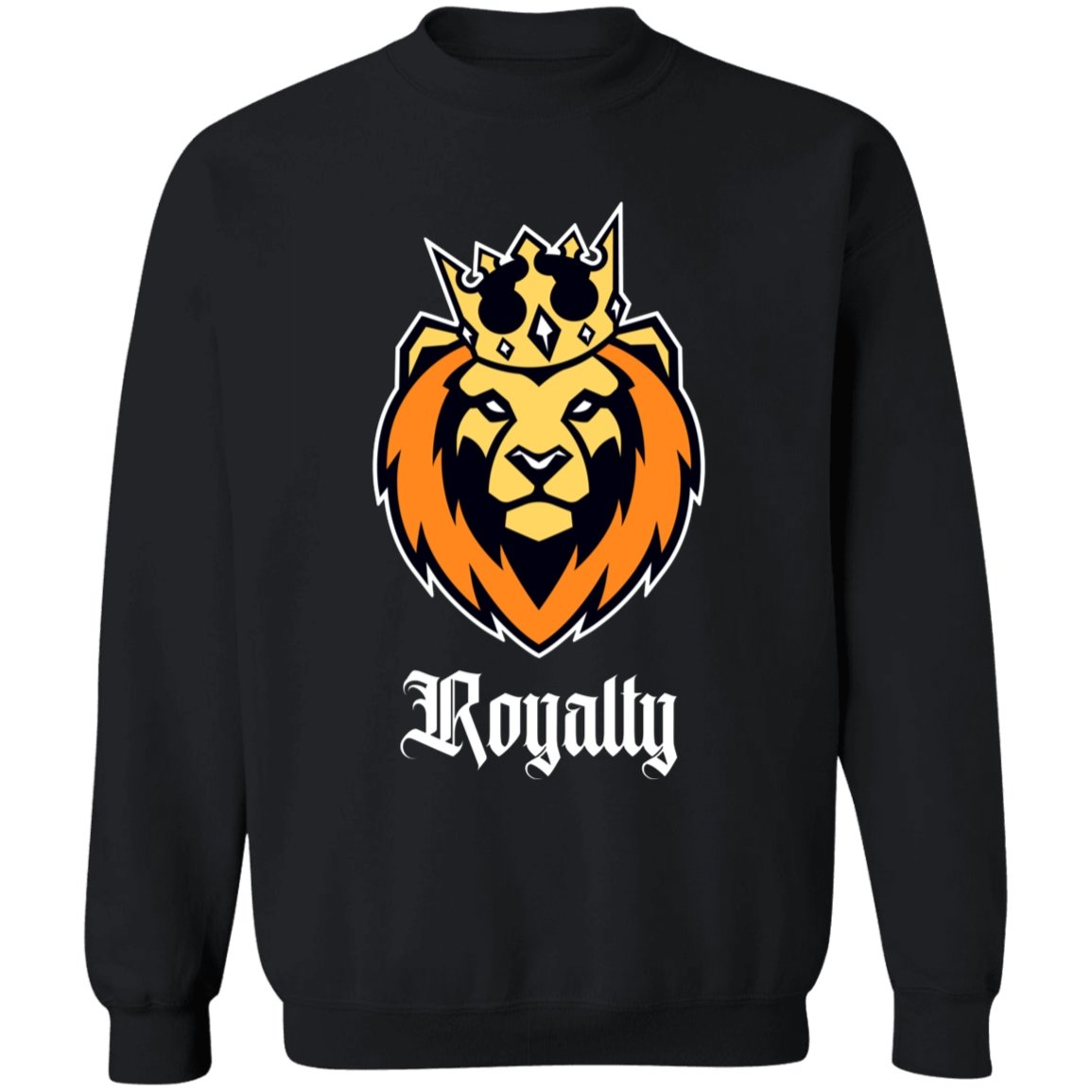 Lion King Black Royalty Sweatshirt - Sugar Streetwear