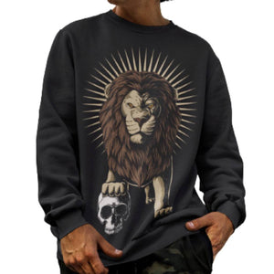 St. Mark Fierce Lion Sweatshirt - Sugar Streetwear