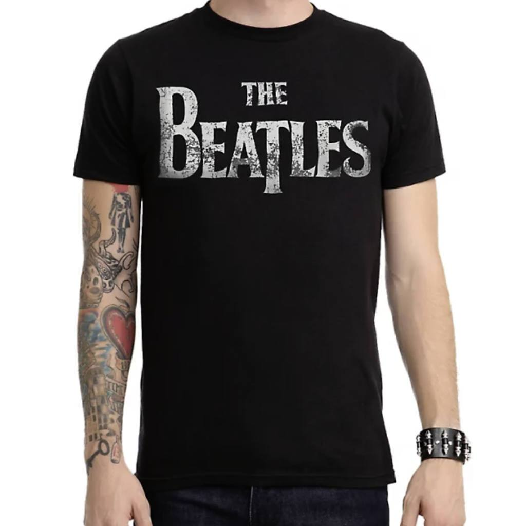 Vintage Style Distressed Beatles T Shirt - Sugar Streetwear