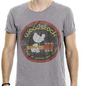 Woodstock Festival Distressed T Shirt - Sugar Streetwear