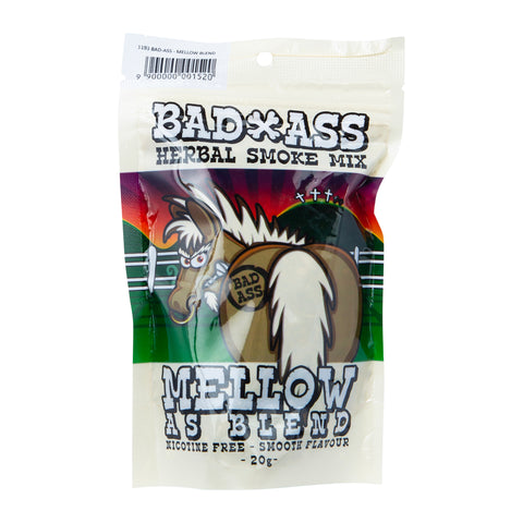 Bad Ass Herbal Tobacco MELLOW AS BLEND