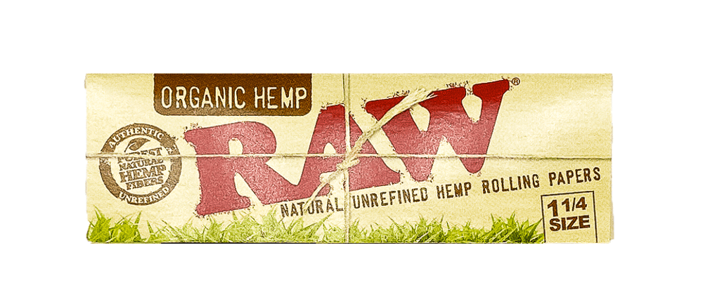 RAW 1/4 Rolling Papers Organic Hemp