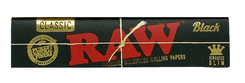 RAW Kingsize Papers Black