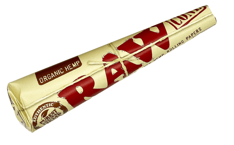 RAW Kingsize Pre Rolled 3 Cones Organic Hemp