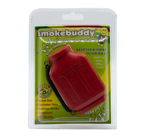 SMOKEBUDDY Jr Personal Air Filter RED