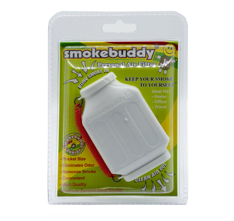 SMOKEBUDDY Jr Personal Air Filter WHITE