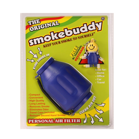 SMOKEBUDDY Original Personal Air Filter BLUE