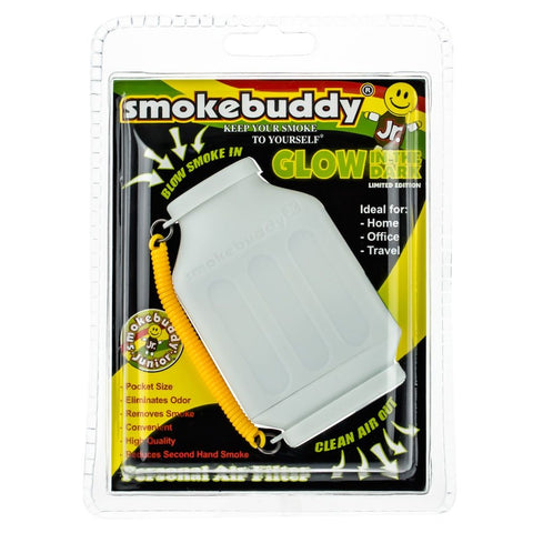 SMOKEBUDDY Jr Personal Air Filter GLOW WHITE