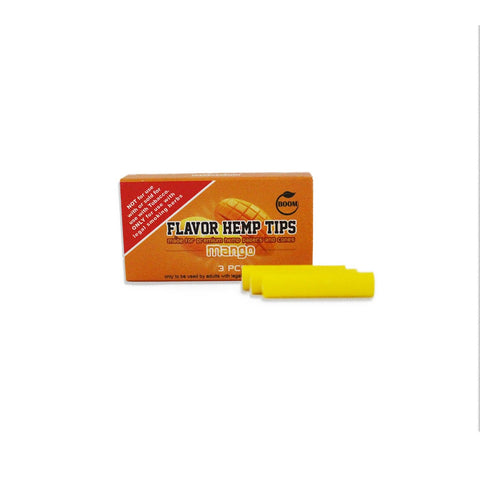 BOOM Flavoured Hemp Tips MANGO