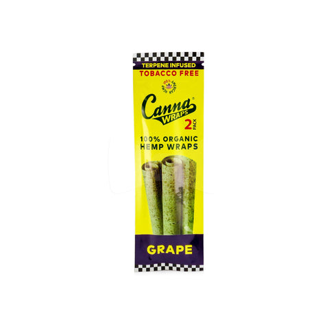 Canna Hemp Wraps Terpene Infused