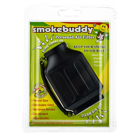 SMOKEBUDDY Jr Personal Air Filter BLACK