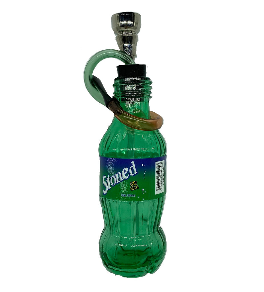 ' STONED ' Bottle Water Pipe