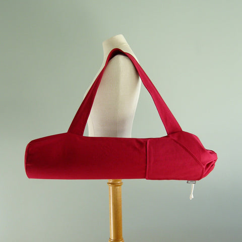 Yoga Mat Bag - Solid Red
