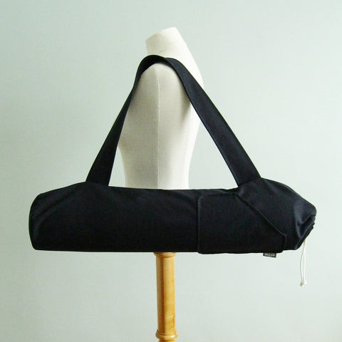 Yoga Mat Bag - Solid Black