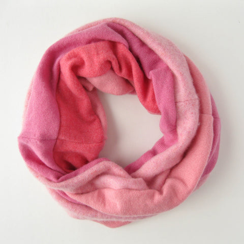 Womens Cashmere Winter Scarf - Pink