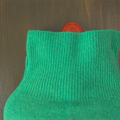 hot water bottle covers - Soft Green 100% Cashmere Hot Water Bottle Cover - effie handmade