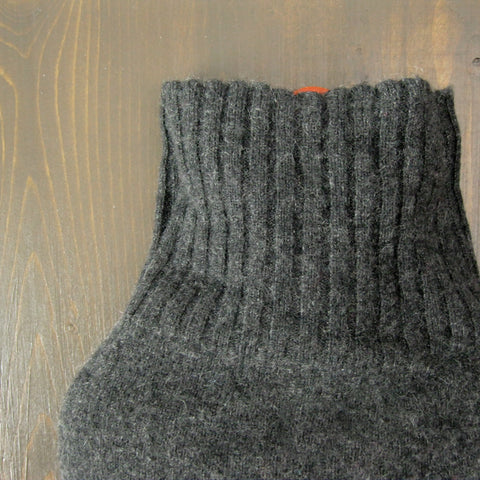 Cashmere Hot Water Bottle Cover - Charcoal
