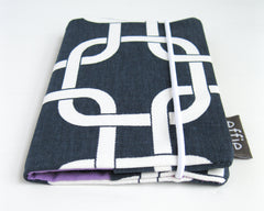 passport cover - Modern Navy Passport Cover - effie handmade