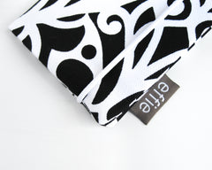 passport cover - Passport Cover - Black & White - effie handmade