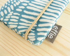 passport cover - Passport Cover - Teal - effie handmade