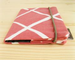 passport cover - Passport Cover - Coral - effie handmade