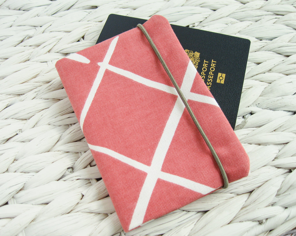 Passport Cover - Coral