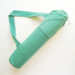 Yoga Bag - Emerald Green