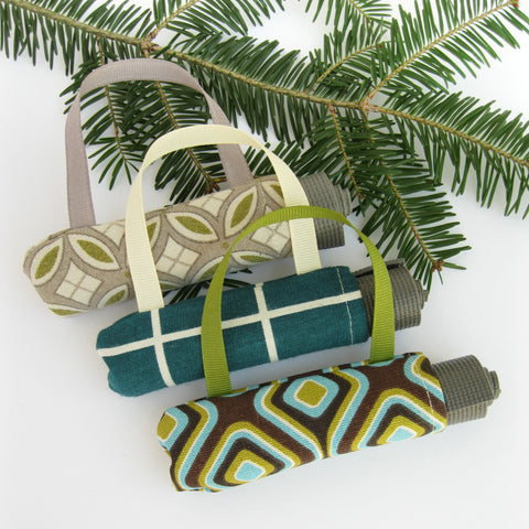 Yoga Teacher Gifts - 3 Yoga Ornaments