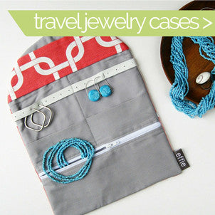modern travel jewelry organizer by effie handmade