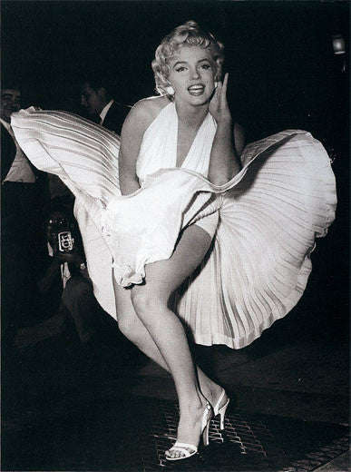 Marilyn Monroe -The Seven Year Itch by Matty Zimmerman