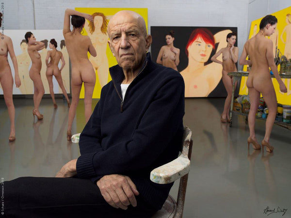Alex Katz - Painter by Howard Schatz