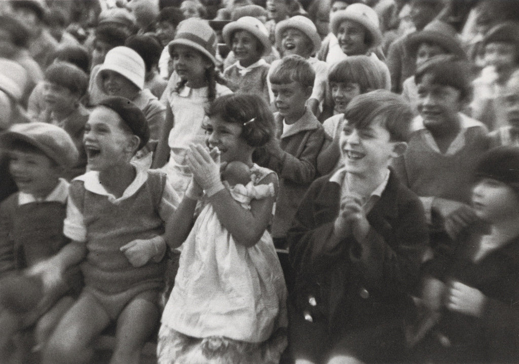 Luxembourg Gardens, Paris 1928 (an audience of children)