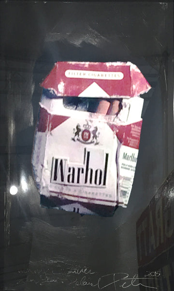 Warhol Cigarettes - Unique, 2015