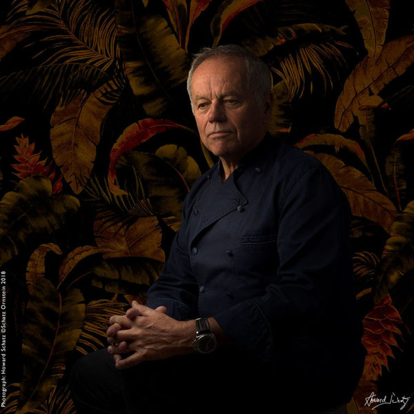 Wolfgang Puck - Master Chef by Howard Schatz