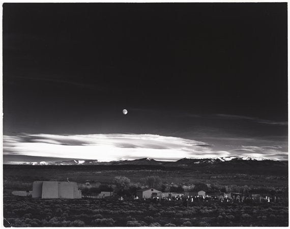 Moonrise Hernandez New Mexico 1941