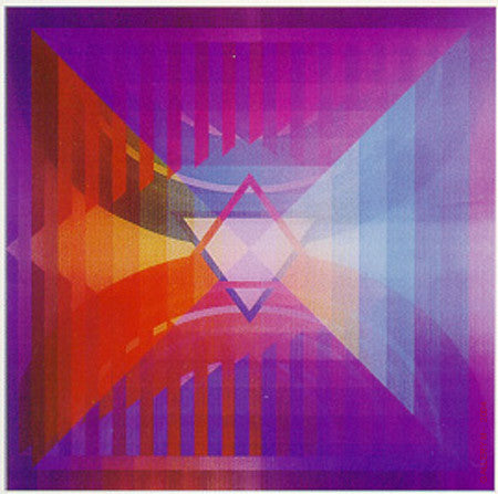 Love Menorah by Yaacov Agam