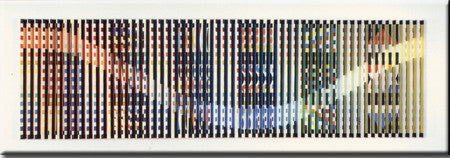 Rainbow Rhythm by Yaacov Agam