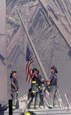 Flag Raising at Ground Zero by Thomas Franklin