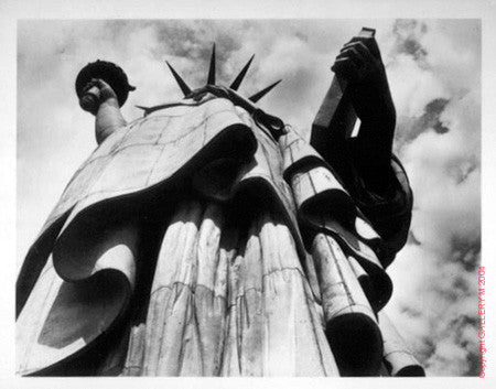 Statue of Liberty by Margaret Bourke-White