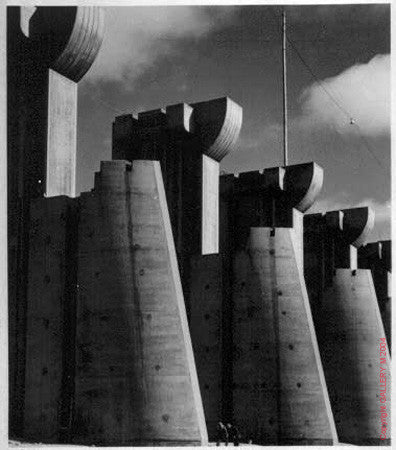 Fort Peck Dam by Margaret Bourke-White